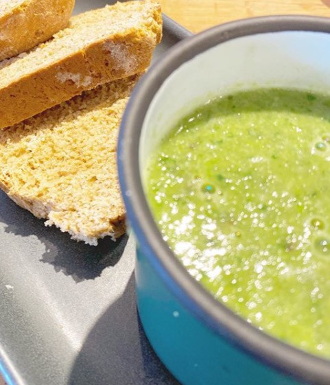 Pea & Mint Soup