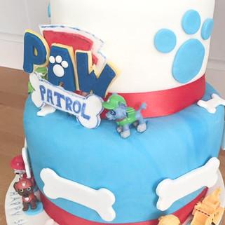 Paw Patrol Character Cake