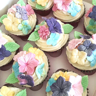 Sugar Paste Cupcakes