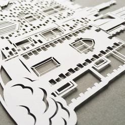 Papercut house