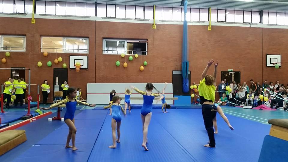Rhythmis Gymnastics festival- SSG