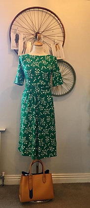 Apple Green Dress with pockets