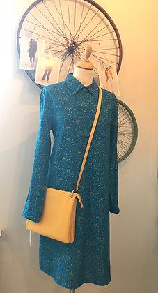 Zilch shirt dress in blue