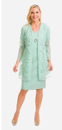 Avalon Dress and Cardigan
