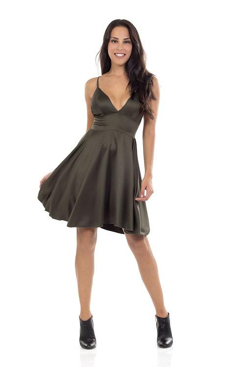 Φόρεμα τύπου satin