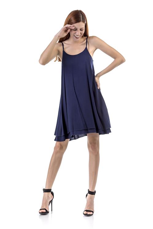 Μίνι φόρεμα με τιράντα