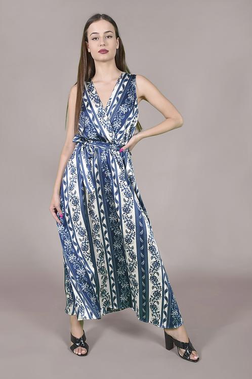 Ethnic κρουαζέ φόρεμα