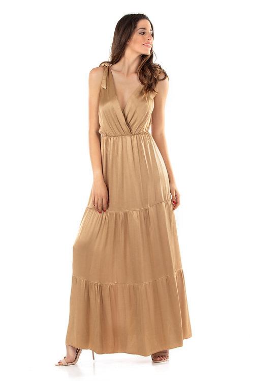 Maxi φόρεμα με 'V'