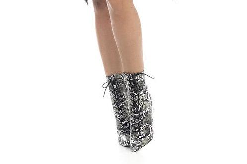 Μπότες snake print