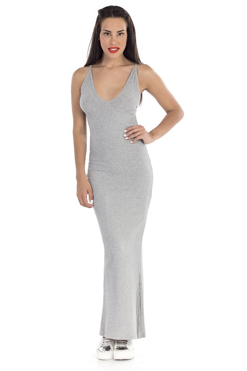 Φόρεμα casual ριπ