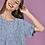 Thumbnail: Φλοράλ μπλούζα με βολάν