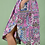 Thumbnail: Εμπριμέ μίντι φόρεμα με τσέπες