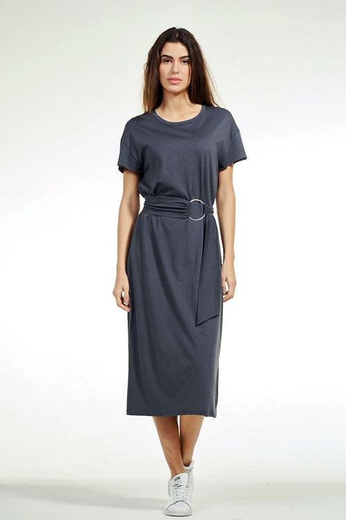 Φόρεμα Maxi με ζώνη