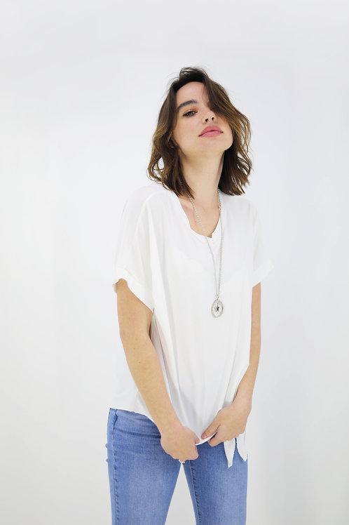 Μπλούζα με κόμπο στο πλάι