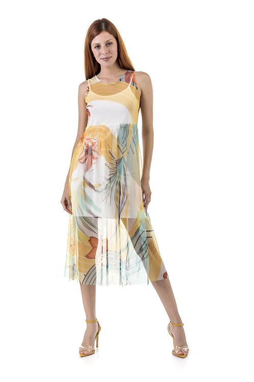 C-thru φλοράλ φόρεμα
