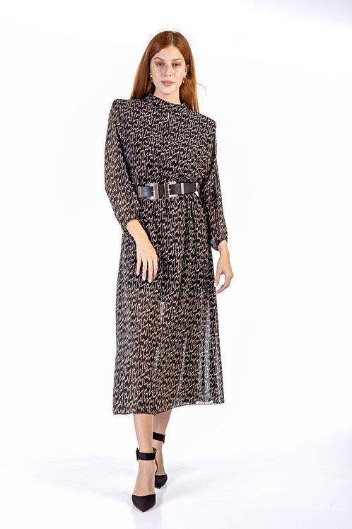 Μακρύ φόρεμα με βάτες