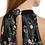 Thumbnail: Floral μάξι βελούδινο φόρεμα