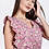 Thumbnail: Floral φόρεμα με φραμπαλά