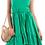 Thumbnail: Μονόχρωμο ασύμμετρο φόρεμα