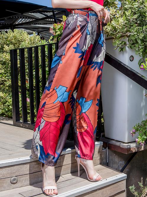 Παντελόνι με φλοράλ print