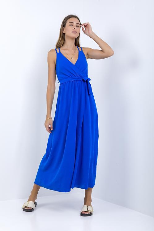 Μακρύ φόρεμα με χιαστί πλάτη