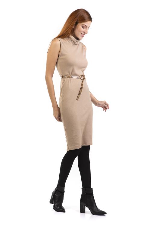 Αμάνικο φόρεμα ζιβάγκο