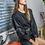 Thumbnail: Μίνι μακρυμάνικο φόρεμα δερματίνη
