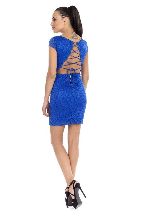 Φόρεμα με κορδόνια στην πλάτη