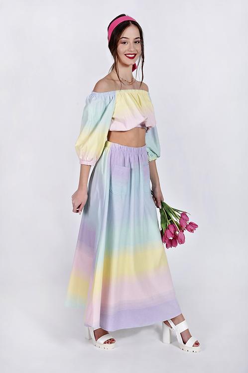 Tie dye φούστα