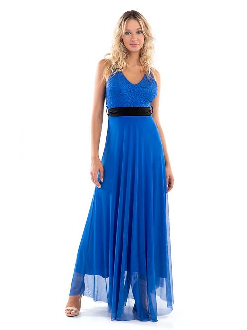 Maxi φόρεμα με δαντέλα