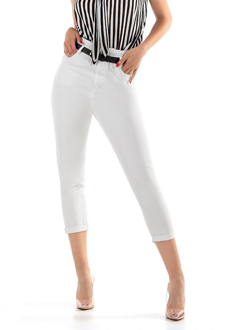 Ψηλόμεσο  Λευκό Jean