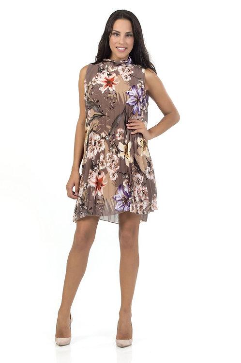 Φόρεμα πλισέ floral