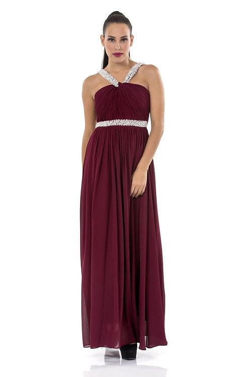 Φόρεμα με πέρλες