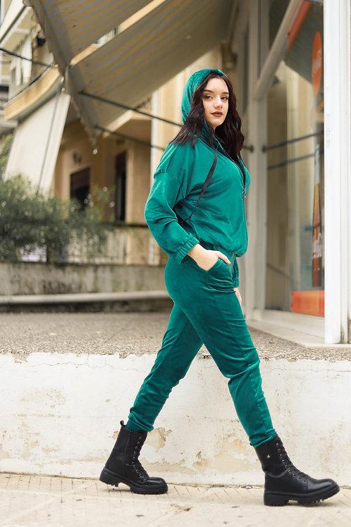 Velvet παντελόνι με κορδονάκι