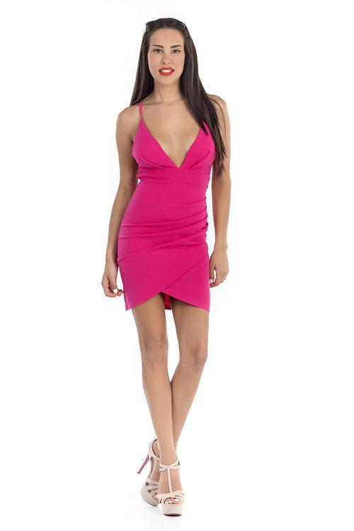 a35c2151c37b Φόρεμα με κορδόνια