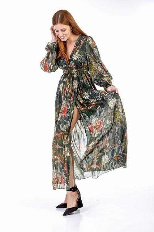 Μακρύ φλοράλ φόρεμα