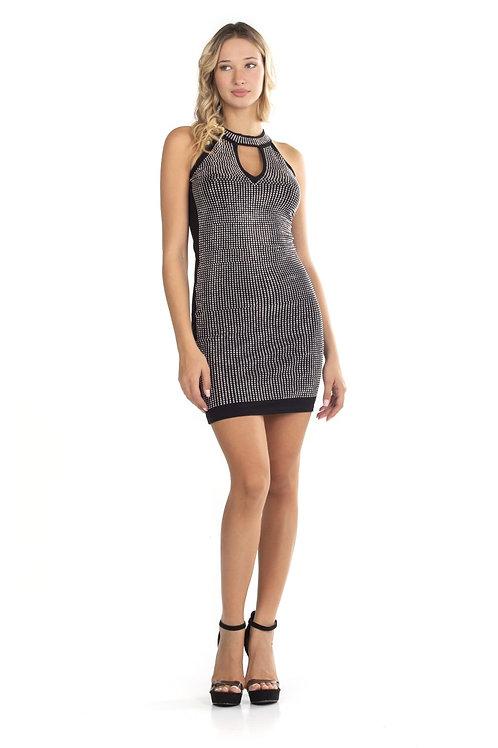 Μίνι φόρεμα με στρας