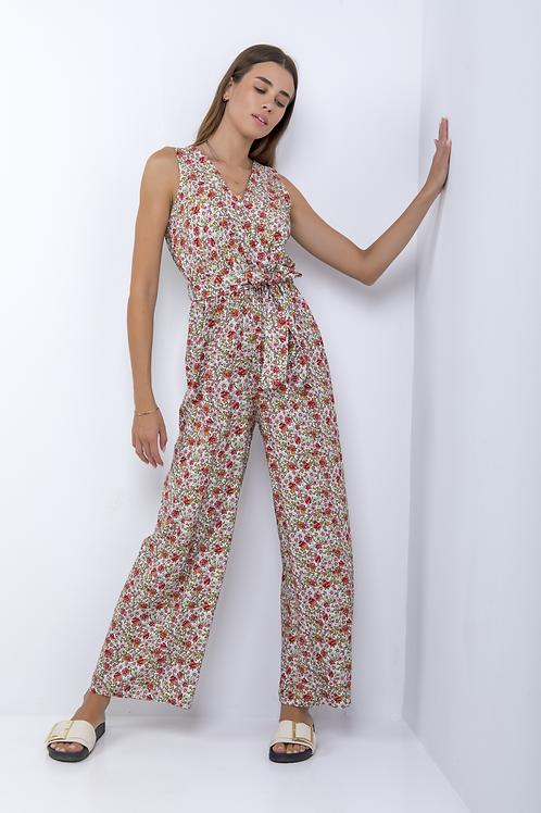 Floral ολόσωμη φόρμα