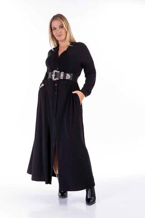 Jersey φόρεμα με τσέπες