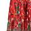 Thumbnail: Midi floral πλισέ φούστα