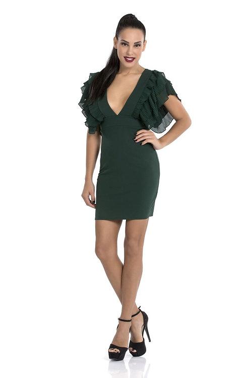 Φόρεμα με ντεκολτέ