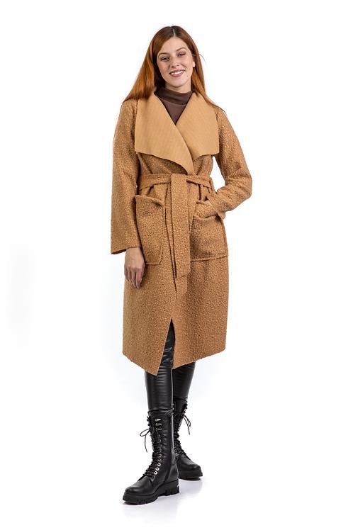 Μίντι παλτό borg