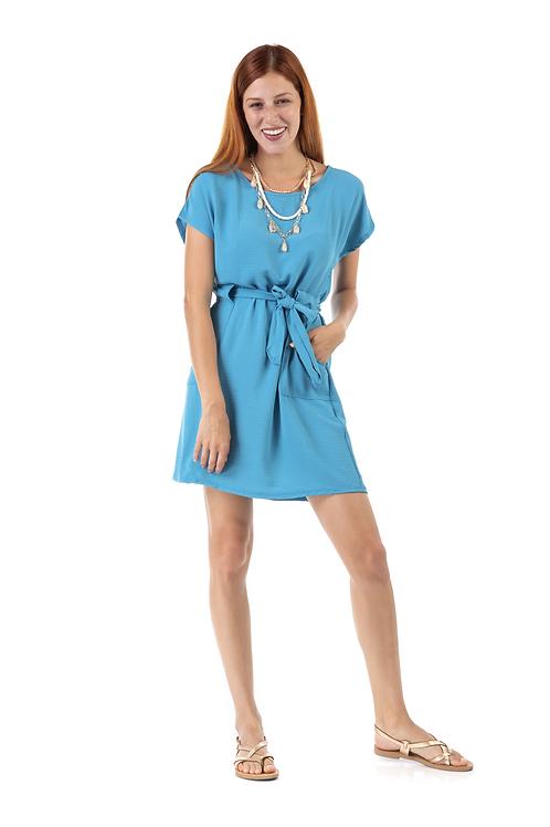 Μίνι φόρεμα με τσέπες