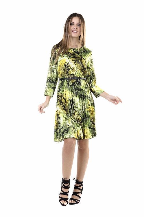 Φόρεμα snake print