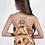 Thumbnail: Φλοράλ φόρεμ με δερμάτινες λεπτομέρειες