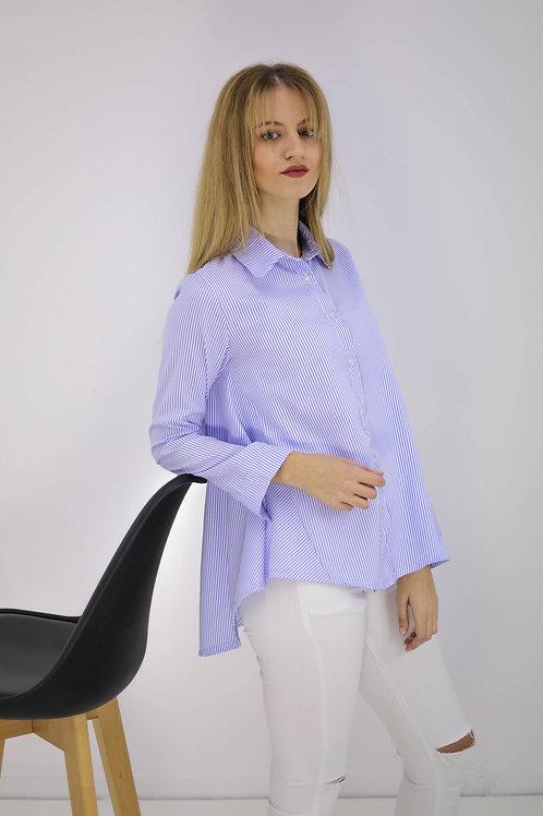 Basic ριγέ πουκάμισο