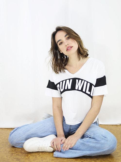 Run wild μπλούζα