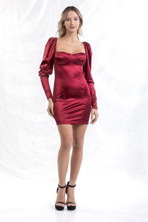 Φόρεμα τύπου σατέν VD