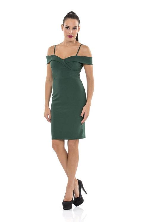 Φόρεμα με ακάλυπτους ώμους