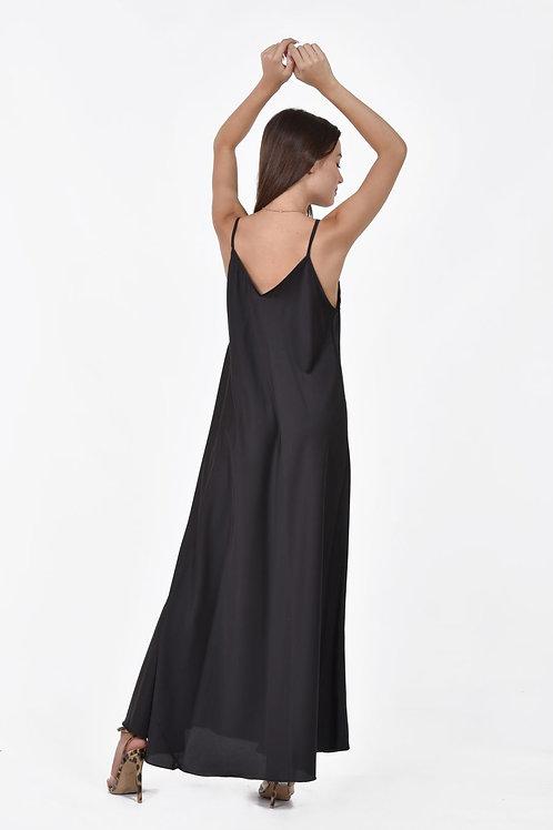 Φορεμα μακρύ σε στυλ Lingerie